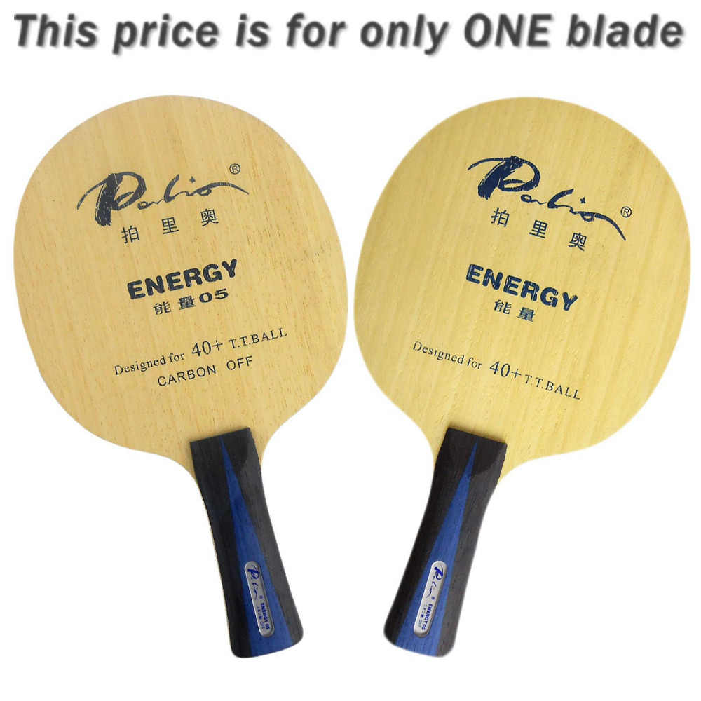 Palio ENERGY05 ENERGY 05 ENERGY-05 3Wood+2Carbon Table Tennis Blade for PingPong Racket