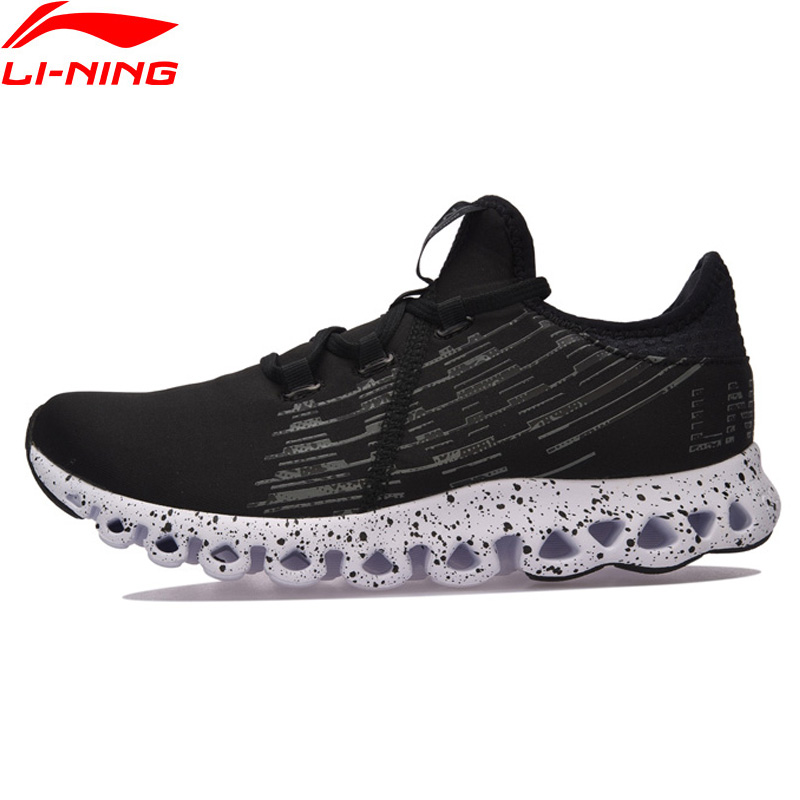 Li-Ning Women Shoes LN ARC Cushion Running Shoes Breathable Anti-Slippery Li Ning Sports Shoes Sneakers ARHM072 li ning professional badminton shoe for women cushion breathable anti slippery lining shock absorption athletic sneakers ayal024