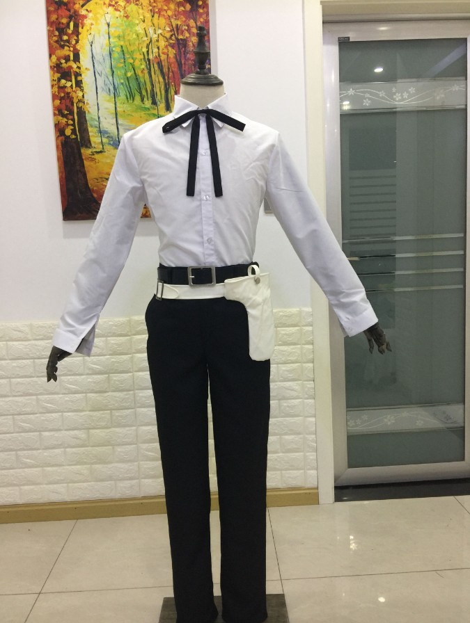 Anime Persona 3 Minato Arisato Cosplay school uniform outfit Costume Custom Made-in Anime Costumes from Novelty & Special Use    3