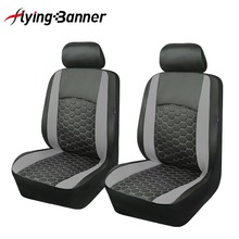 PU Leather 2 Front Car Seat Cover Universal Fits Styling Protector