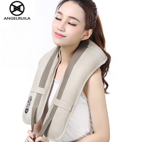 Car Home Neck Massager Electrical Shiatsu Shoulder Back Leg Body Massagem 3D Kneading U Shape Massagers