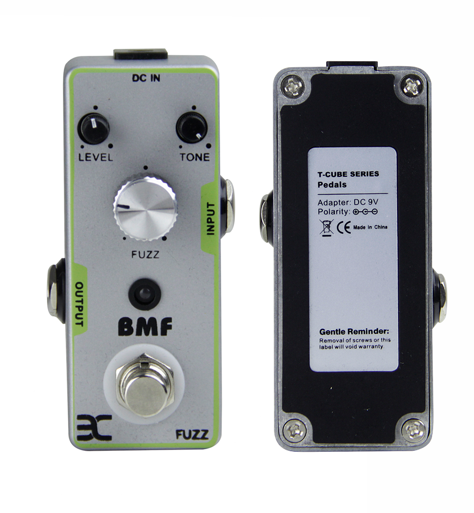ENO TC-18 BMF Classic Fuzz Guitar Pedal Distortion Guitar Effect Pedal with 3 Controllers True Bypass Guitar Accessories стоимость