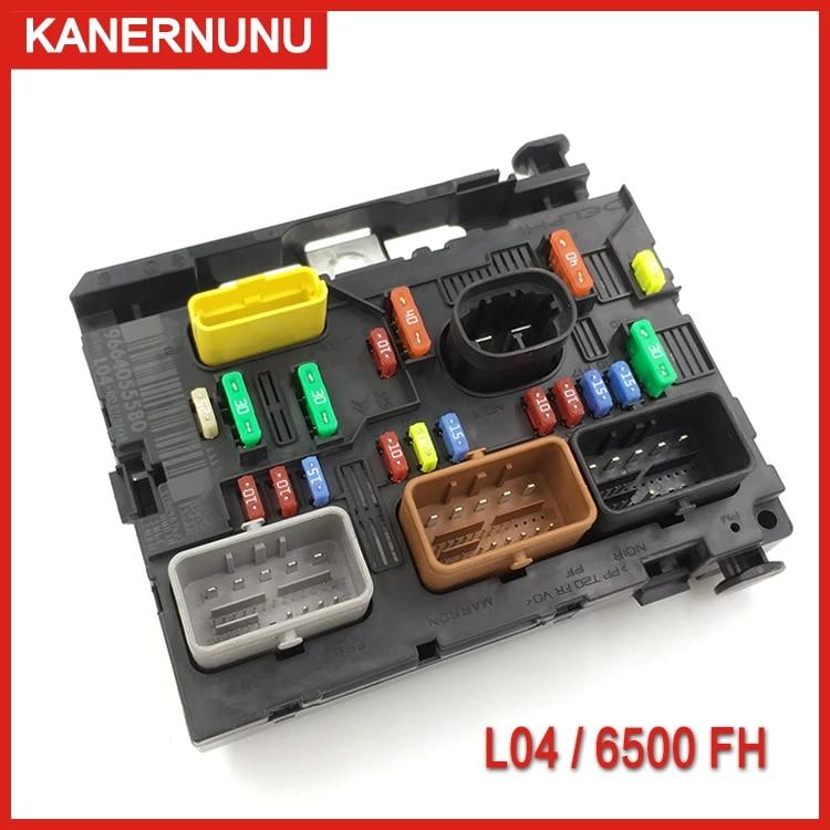 brand new genuine fuse box unit assembly bsm l04=l11 6500fh 9664055780  9664055580 for peugeot 207 307 citroen c4 c5 triumph    - aliexpress  aliexpress