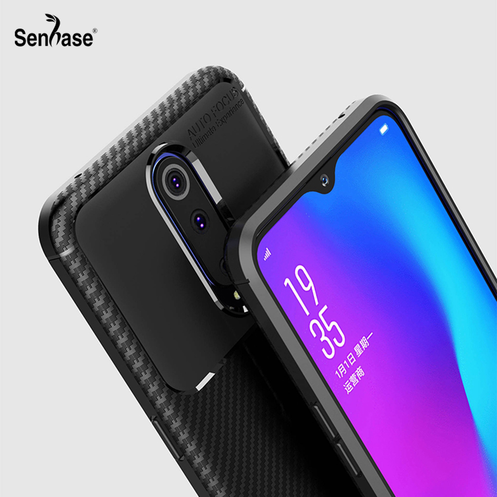 For Oppo R17 Pro Case 6.4 inch Business Ultra Thin Soft Silicone TPU Back Cover Cases For Oppo R17 R17Pro Phone Case