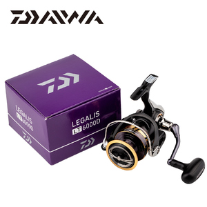 Image 5 - DAIWA LEGALIS LT Spinning Fishing Reels 2000D XH/2500 XH/3000 CXH/4000D CXH/5000D CXH l High Gear 6.2:1carbon body5+1BB Wheel