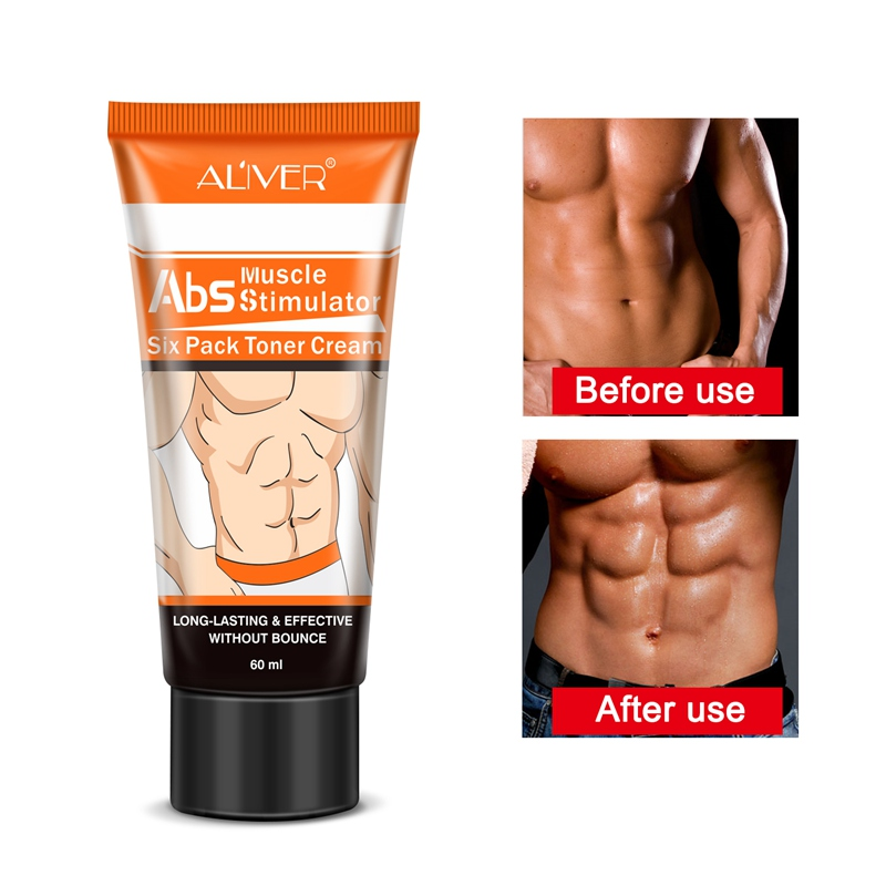 Effective Body Cream Hormones Men Muscle Strong Anti Cellulite Burning Cream Slimming Gel For Abdominals