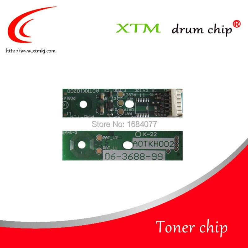 12X Developer chip for Minolta Bizhub C220 C224 C280 C284 C360 C364 C454 C554 cartridge chip