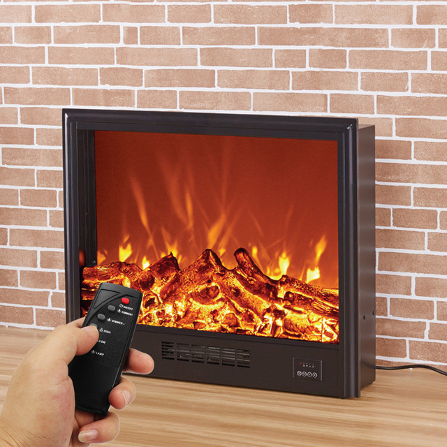electric flame glass heater insert wall mounted design with remote rh aliexpress com