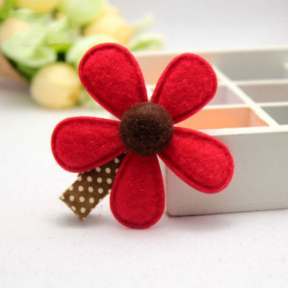 Diy hair accessories for baby girl - 1piece Hot Selling Girl Hairclip Mini Cloth Flower Hair Clip Children Hairpins Diy Baby Girl Hair