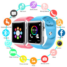 2019 New Smart Watch For Children Kids Baby Watch Phone 2G Sim Card Dail Call Touch Screen Waterproof Smart Clock Smartwatches(China)