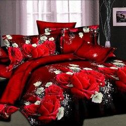 Unihome luxo 3d jogo de cama folha define capa edredão conjunto atacado capa twin/single/duplo/rainha/