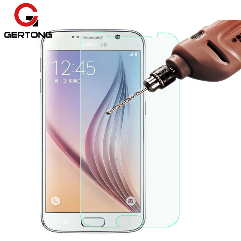 GerTong 9H Tempered Glass For Samsung Galaxy S6 S5 Neo S4 S3 Mini Screen Protector For Samsung Galaxy Note 5 4 3 Protective Film