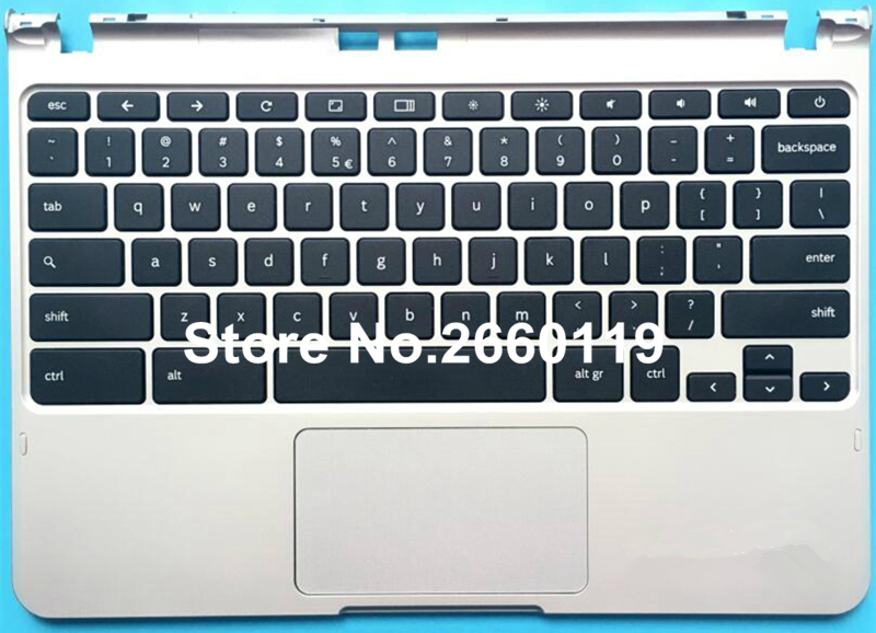 laptop upper case for samsung XE303C12 series laptop keyboard replace cover C shell