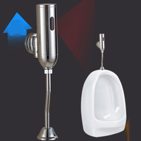 Battery Powered Automatic Toilet Flush Valve with Infrared Sensor For Bathroom Toilet Urinals Auto Flushing