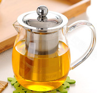 New Products Chinese Tea Pot Heat Resistant Glass Food Grade Tea Pots With Inner Filter Home