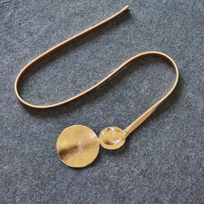Seabigtoo Gold Gürtel Für Frauen Shell Förmigen Metall Gürtel Elastische Kette Luxus Frauen Damen Gürtel Weibliche Dekoriert Taille Designer Kaufe Jetzt Bekleidung Zubehör