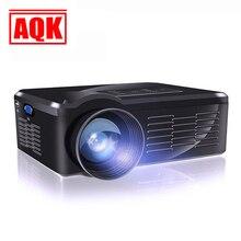 2016 Home Cinéma 1300 lumens Portable HDMI USB LCD LED Mini Micro Projecteur 3D TV HD 1080 P Proyector Projetor Projektor Beamer