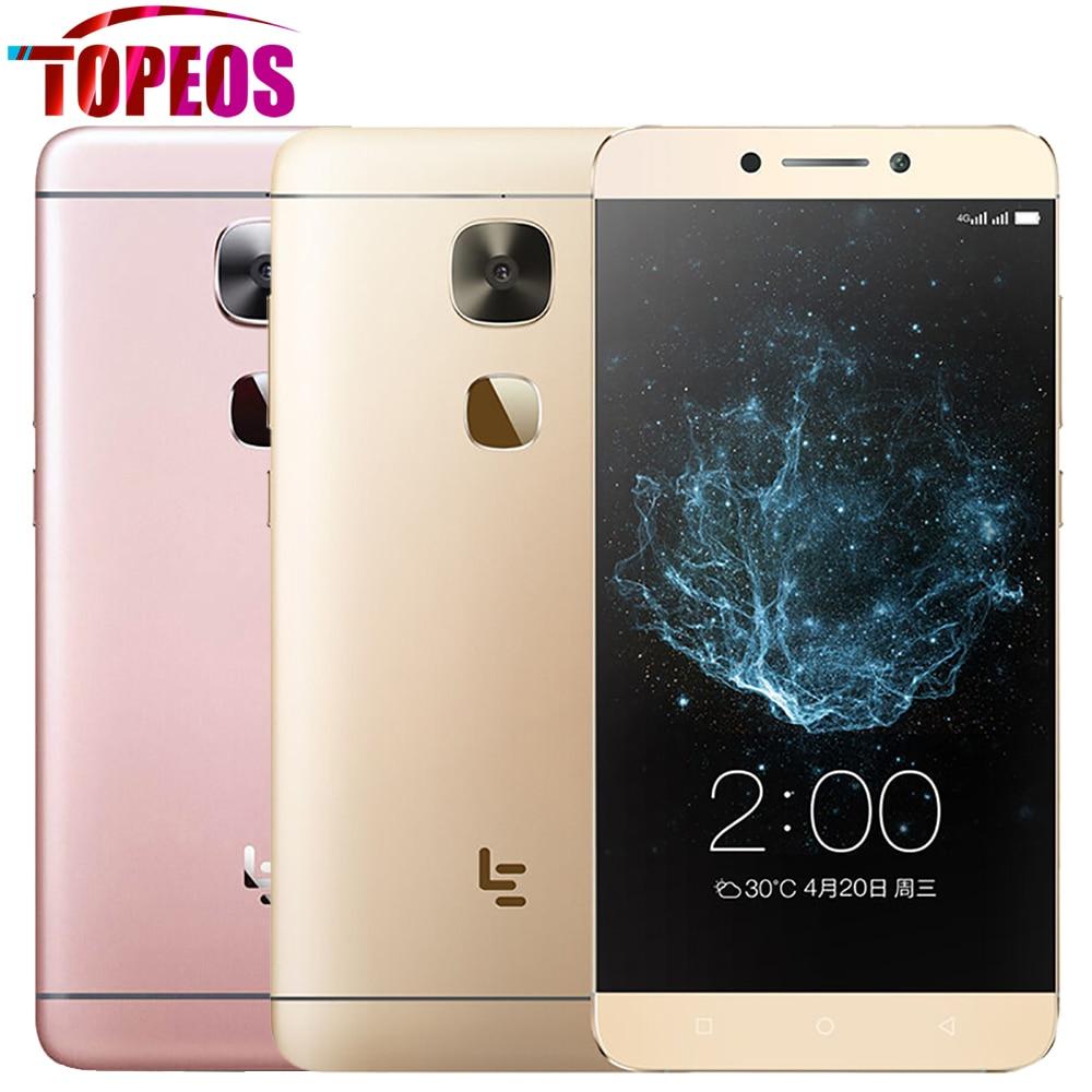 Original LeEco Letv Le 2 X620 MTK6797 Deca Core Mobile Phone 4G FDD LTE 5.5inch 3GB RAM 32GB ROM 16MP 1920*1080 FHD Fingerprint