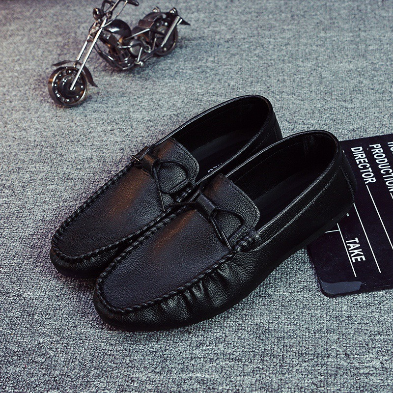 Brand New Fashion Men Loafers Men Leather Casual Shoes High Quality Adult Moccasins Men Driving Shoes Male Footwear Unisex New