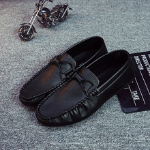 Brand New Fashion Men Loafers Men Leather Casual Shoes High