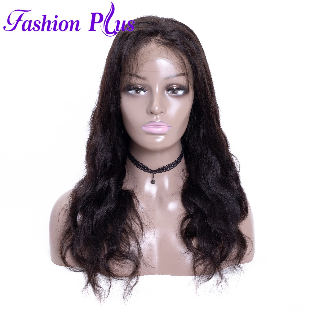 Full Lace Wigs Human Hair With Baby Hair Full Lace Human Hair Wigs For Black Women 150% Body Wave Can Be Custom Wigs 12-28
