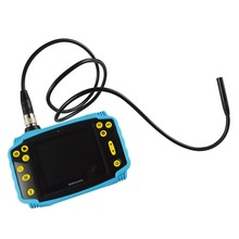 3.5 LCD 3MP 720P HD Borescope USB Endoscope 5.5mm 1M/3M Probe 6 Led 4XZoom Inspection Probe Snake Inspection Video Camera