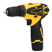 12V Lithium Battery Rechargeable Cordless Drill Electric Cordless Screwdriver Tool Sets Mini Household Electric Drill(China (Mainland))