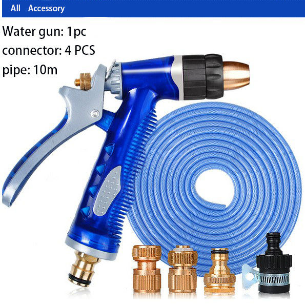 Us 43 0 New Car Washer Water Gun And Pipe High Pressure Can Wash Car Bike Motor Connector Total Copper Ru Bz Free Shipping In Car Washer From