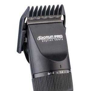Image 4 - Super cichy profesjonalny akumulator trymer do stylizacji włosów zestawy narzędzi spinki do włosów ścinanie włosów maszyna 2000mA bateria litowa