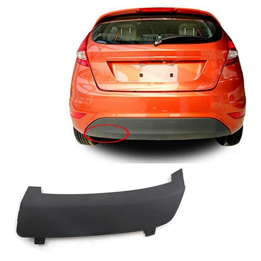 1 pièces pare-chocs arrière remorquage crochet de remorquage capuchon de couverture pour Ford Fiesta MK7 2008-2016 1531833/8A61-17K922-AB5ZCT