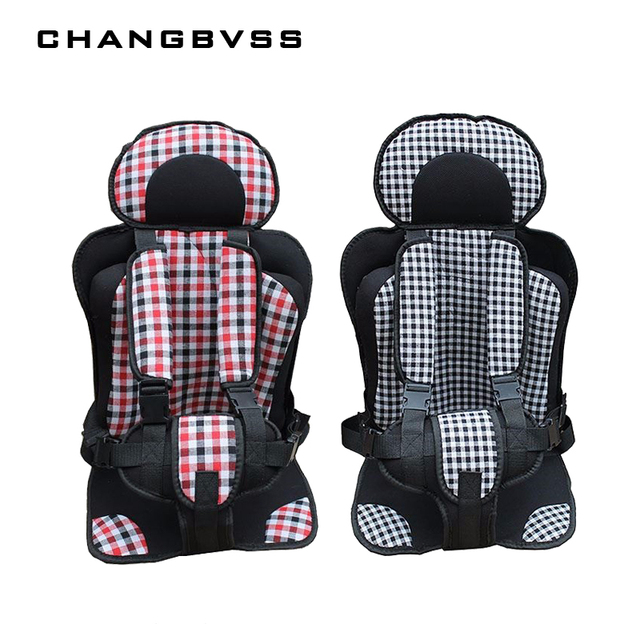 Plus Size Portable Toddler Car Seat Safety,Comfortable Travel Child Car Seat Chair Cushion,Kids 5 Point Harness Infat Car Seats