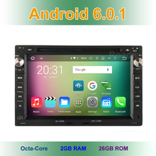 8 core 2GB RAM Android 6.0 Car DVD for VW Polo Bora Passat B5 Sharan Jetta Golf Lupo Transporter T4 T5 Seat Alhambra Cordoba