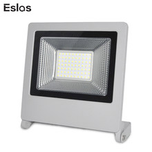 Eslas Outdoor Lighting 220V 20W 30W 50W Refletor LED Flood Light Searchlight With Floodlight Waterproof Wall Light(China)