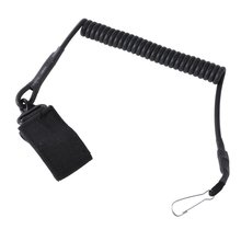2018 Hot Airsoft Tactical Single Point Pistol Handgun Spring Lanyard Sling Quick Release Shooting Hunting Strap Army Gear