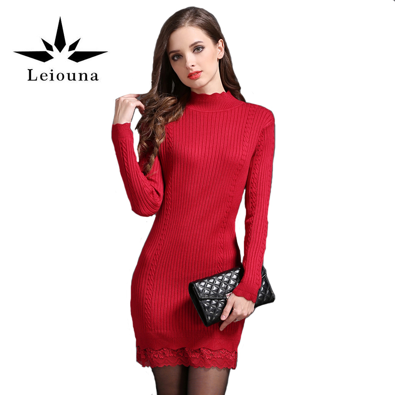 Online Get Cheap Long Sleeve Red Dress -Aliexpress.com   Alibaba Group