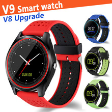 V9 Smart Watch V8 Upgrade Android IOS Men Women Camera Bluetooth Smartwatch SMS SIM TF Wristwatch Music Stand Phone Watch A1 Z60