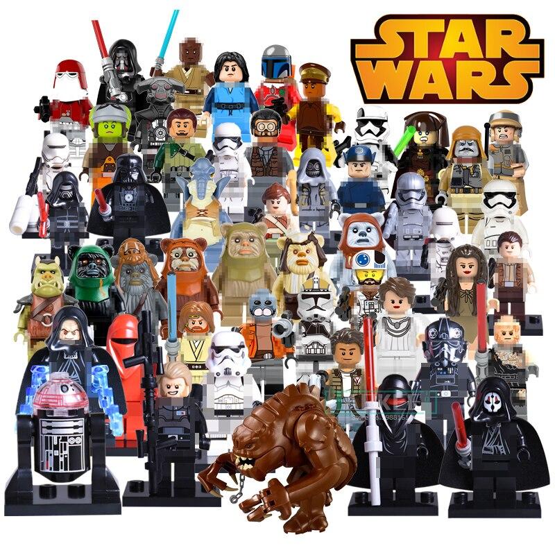 Building Block PG8095 Star Wars Red Snow Soldiers Santa Jango Fett Darth Vader Captain Phasma Kylo