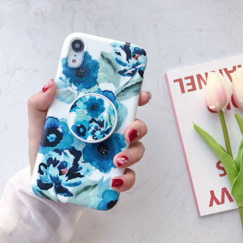 Colorful Flowers iPhone XR Case