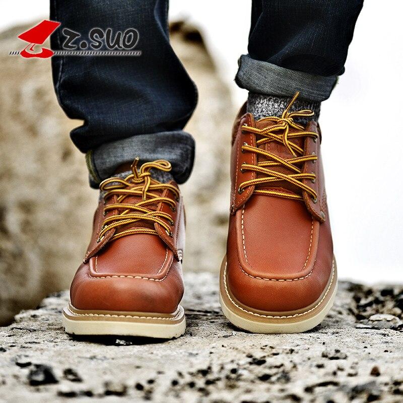 Migratrice la Zsgty16066 Uomo casual allacciatura pelle maschile gratuita Zsuo spedizione in scarpe casual Tooling scarpe inferiore ITXATwFx