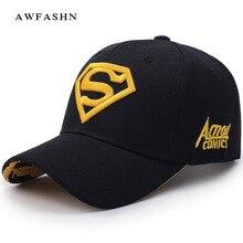 2018 nuevo Superman bordado gorra de béisbol de moda Hip Hop sombrero de  alta calidad hombre 99b55181795