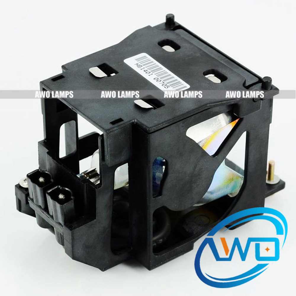 AWO Quality Projector Replacement Lamp Module ET-LAE100 for PANASONIC PT-LAE100/PT-AE200/AE200E/PT-AE300/PT-L300U/PT-L200U original replacement bare bulb panasonic et lal500 for pt lb280 pt tx400 pt lw330 pt lw280 pt lb360 pt lb330 pt lb300 projectors