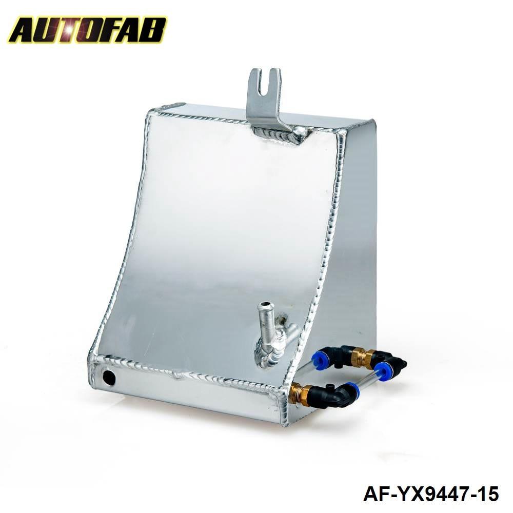 Prix pour Autofab-en aluminium radiateur de refroidissement réservoir kit débordement réservoir peut pour nissan 240sx s13 af-yx9447-15