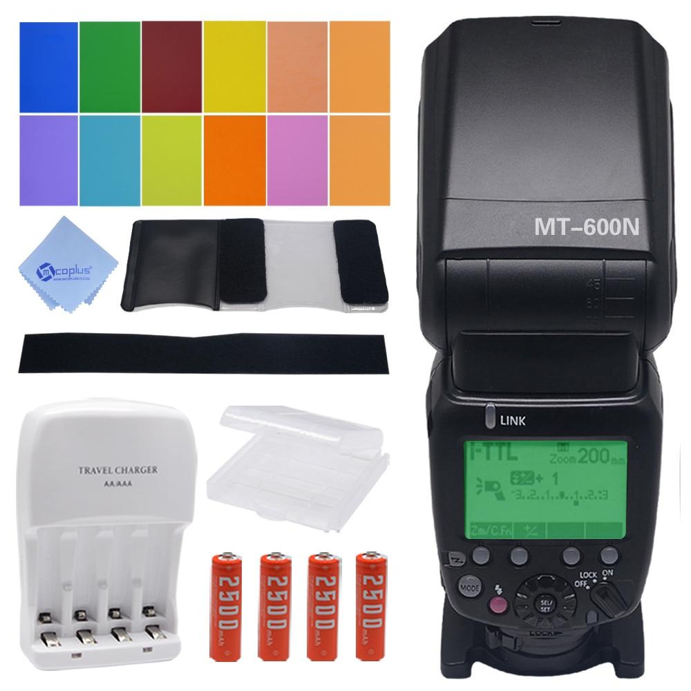 Mcoplus MT-600N GN60 1/8000s HSS I-TTL Slave Flash Speedlite for Nikon SB900 SB910 D750 D800 D3300 D5300 D7100 D7000 DSLR Camera mcoplus tr 980 ttl flash speedlite for nikon sb 900 d7100 d7000 d5100 d5000 d3200 d3100 d3000 d600 d90 d80