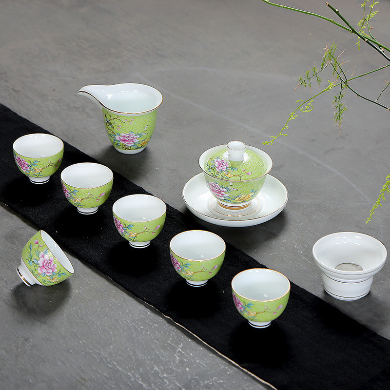 Jindezhen Grilled Flower Hats Cup Ceramics Gift Tea Set Sip Tea Cup PersonalJindezhen Grilled Flower Hats Cup Ceramics Gift Tea Set Sip Tea Cup Personal