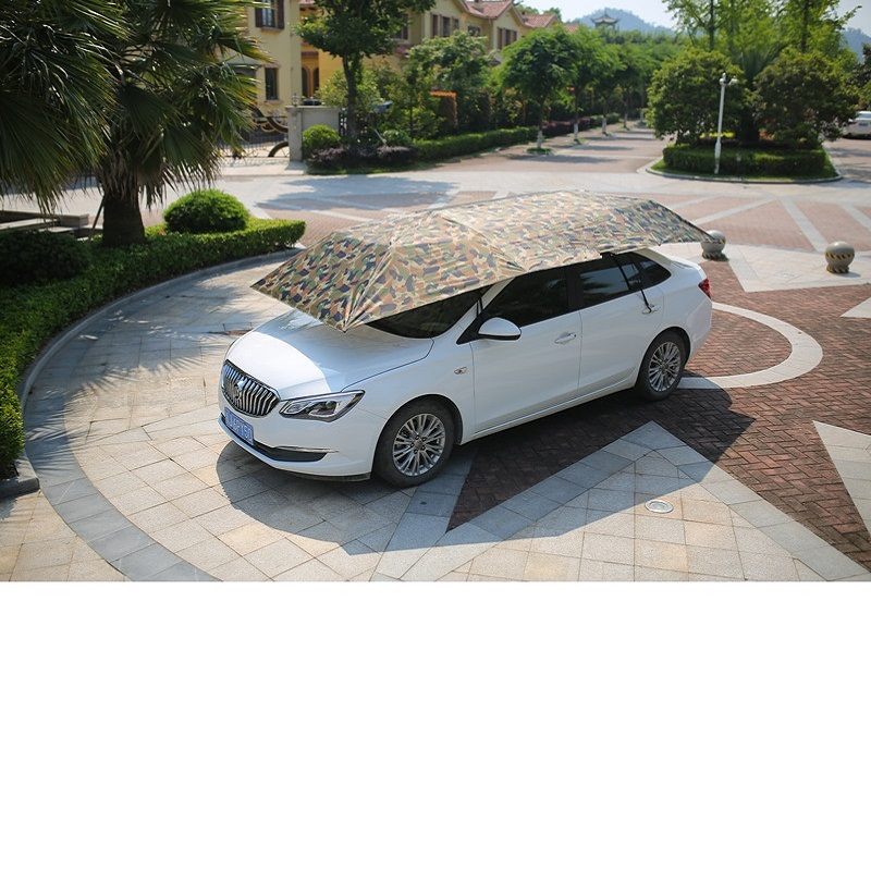 Outdoor Automatic Waterproof Car Umbrella Automobile Cover Remote Control Portable