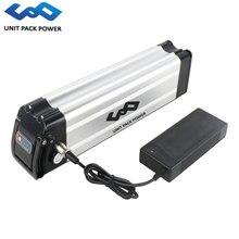UPP 36 V 10Ah 14Ah 18Ah 500 W Ebike Батарея 36 V серебро рыбы литиевая Батарея для Bafang/8FUN BBS01