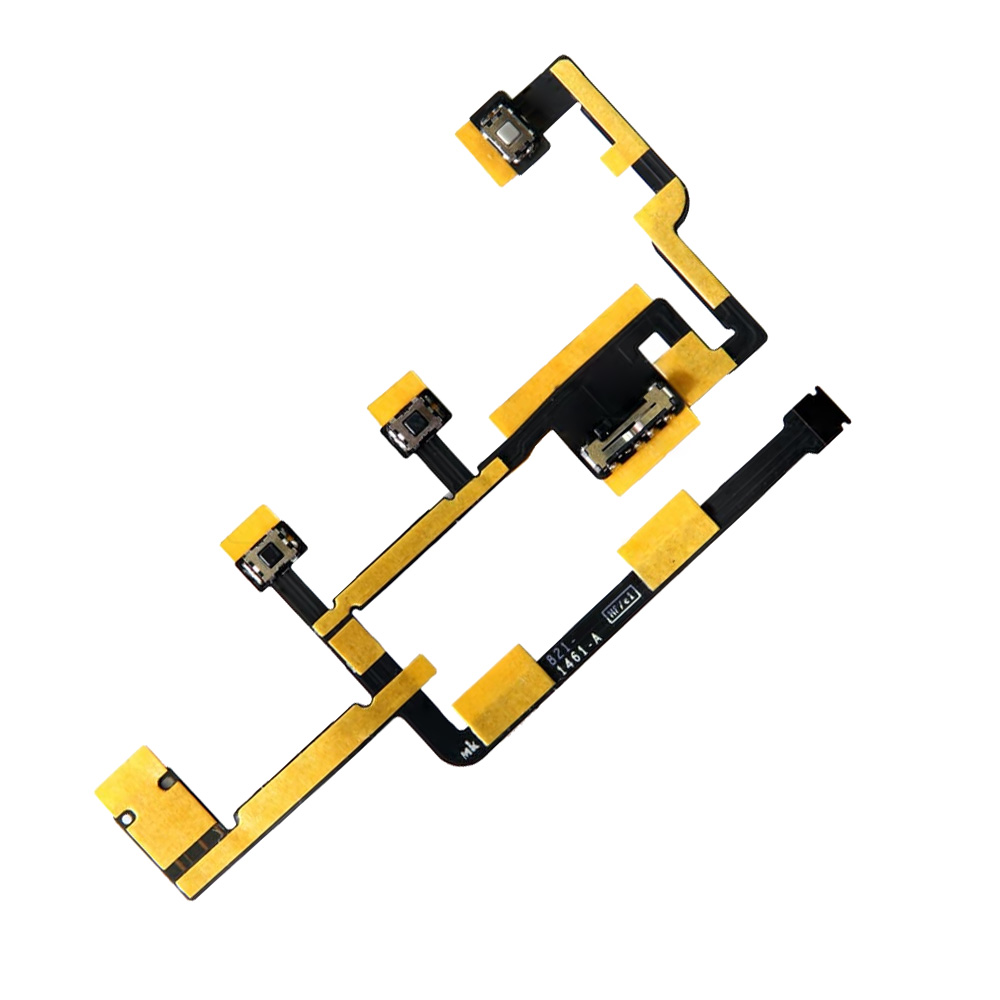 High Quality New Power On Off Flex Cable For Ipad 2 Flex
