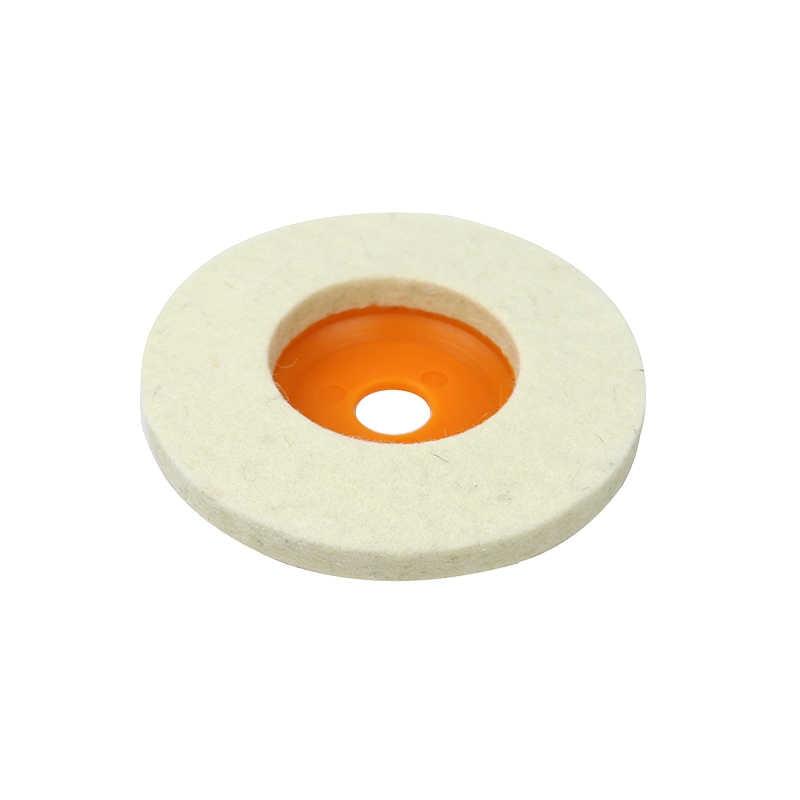"""85 מ""""מ/100 מ""""מ צמר ליטוש גלגל זווית מטחנות מרוט ליטוש דיסק עבור מתכת השיש זכוכית קרמיקה המירוק כלים"""