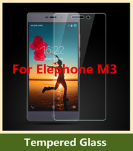 HOT ! Elephone M3 Tempered Glass Film High Quality 2.5D Ultra Thin Screen Protector Film for ElEPHONE smartphone + Free Shipping