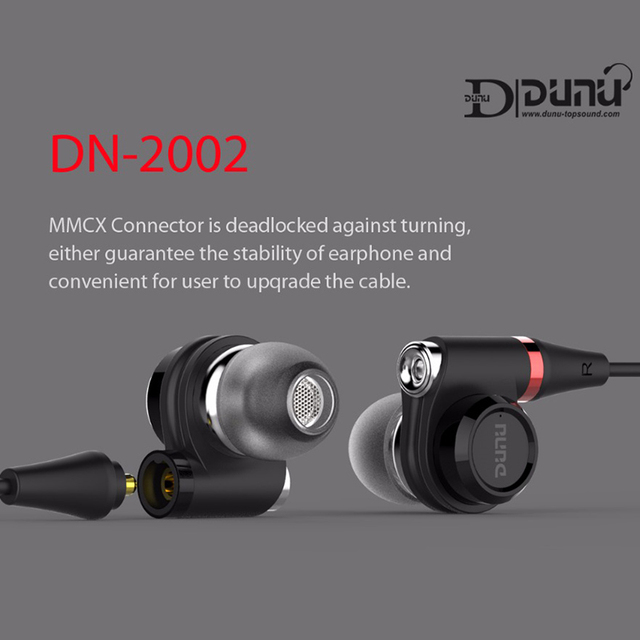 DUNU DN2002 HiFi Inner-ear Earphone 2BA+2Dynamic Hybrid 4 Driver IEM  Earphones with MMCX Connector DN-2002  DN 2002 TOPSOUND 3